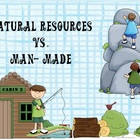 Natural Resources vs. Man Made Sort