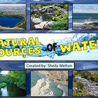 Natural Sources of Water Powerpoint ~ Ocean, Lake, Pond, R