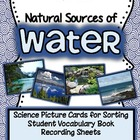 Natural Sources of Water {Science Picture Cards for Sorting}