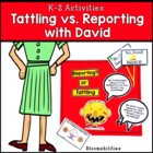 Naughty or Nice? Tattling vs. Reporting and Fact vs. Opinion