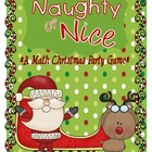 Naughty or Nice Christmas Party Math Game