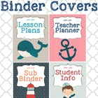 Nautical Binder Covers
