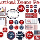 Nautical Classroom Theme packet