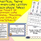 Nautical Theme Grade Three Common Core Lesson Planning Pack
