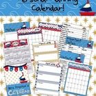 Nautical Themed 2013-2014 Personal Planning Calendar