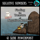 Negative Numbers PowerPoint Lesson and Practice Aargh! The
