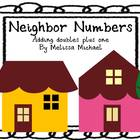 Neighbor Numbers ~ Activities for adding doubles plus one