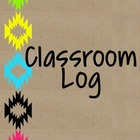 Neon Tribal Classroom Log