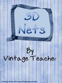 Nets for 3D Shapes (Blank)