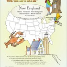 New England-&#039;Our United States Series&#039; 32-Page Lesson Plan