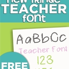 New Fringe Teacher Font