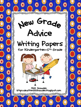 New Grade Advice Writing Papers