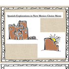 New Mexico History: Spanish Explorations Extension Menu