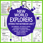 New World Explorers - Common Core Unit