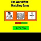 New World War I Match Game - Bill Burton
