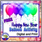 New Year Balloon Activity