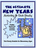 New Year Unit Study and Activity Pack