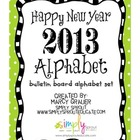 New Years Bulletin Board Kit for the Classroom