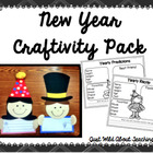 New Year&#039;s Craftivity Packet