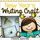 New Year&#039;s Craftivity and Writing Pack