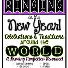 New Year's Eve Around the World Printables!