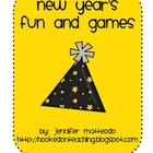 New Year&#039;s Fun and Games Activities