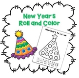 New Year's Hat Roll and Color
