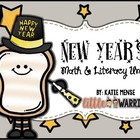 New Year's Literacy and Math Fun