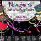 New Years Math and Literacy Centers