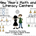 New Year&#039;s Math and Literacy Fun