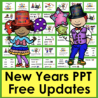 New Year's PowerPoint Presentation 2014 - 3 Reading Levels