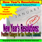 New Years Resolution Activity PowerPoint