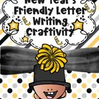New Year&#039;s Resolution Friendly Letter Writing Craftivity