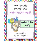 New Years Resolution Mini-Lesson Pac