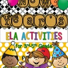 New Year&#039;s Resolution Reading and Writing Activities Mini-Unit
