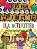 Happy New Year {ELA activities for BIG KIDS! 3rd-5th Grade}