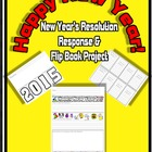 New Year's Resolution Response and Flip Book Project