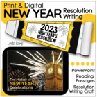 New Year&#039;s Resolution Writing Activities
