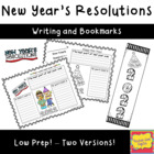 New Year&#039;s Resolution Writing Activity
