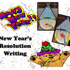 New Year&#039;s Resolution Writing Craftivity
