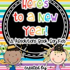 New Year's Resolutions Book for Kids