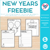New Year's Resolutions and Goals Freebie!