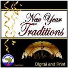 New Year's Traditions Handouts and Quiz