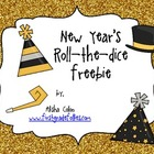 New Year's roll-the-dice Freebie