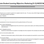 New York State APPR Student Learning Objective and Pre-tes