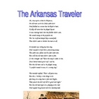 New York State ELA Practice -- Poetry -- The Arkansas Traveler