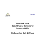 New York State Social Studies Resource Guide for Kindergarten