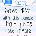 New seller Clip art bundle {Preschool}