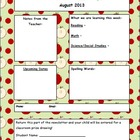 Newsletter Template - Seasonal Backgrounds