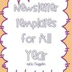 Newsletter Templates for All Year